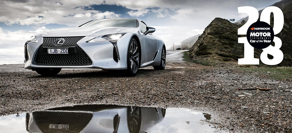 Lexus LC500 Performance Car of the Year 2018 9th review