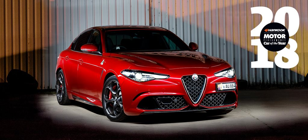 Alfa Romeo Giulia QV Performance Car of the Year 2018 8th place