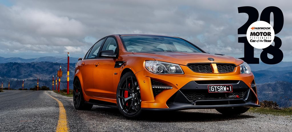 HSV GTSR W1 Performance Car of the Year 2018 test drive feature