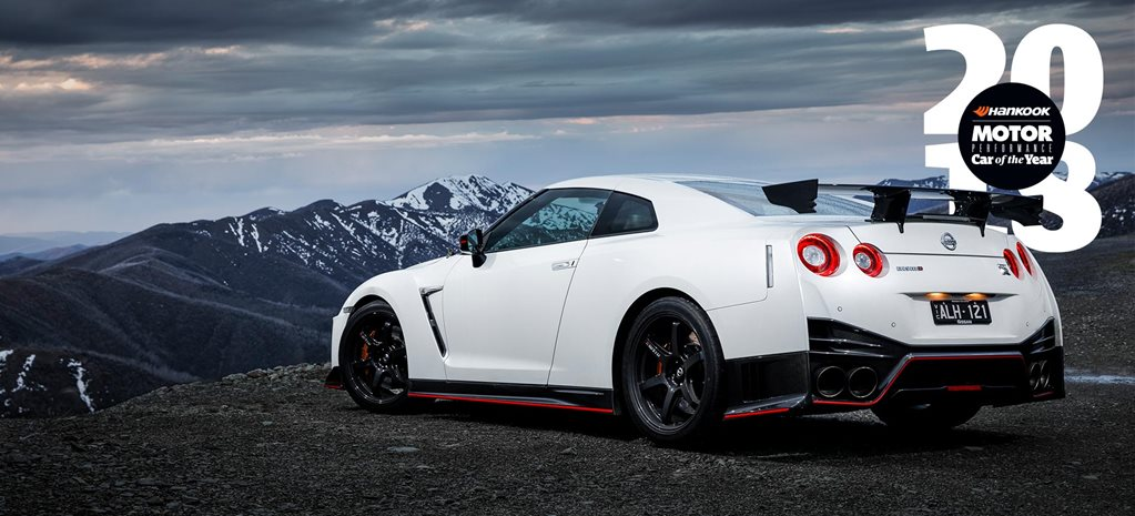 Nissan GT R Nismo Performance Car of the Year 2018 4th finish feature