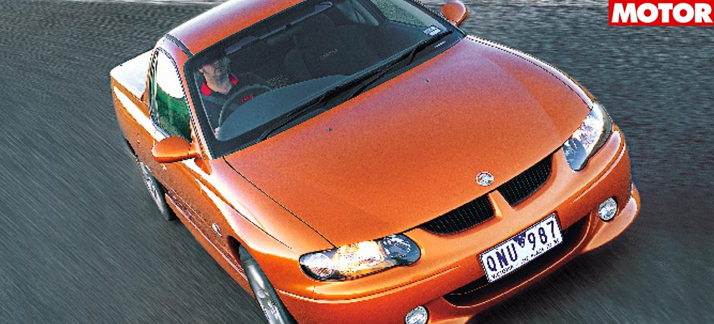 2000 Holden Commodore VU SS ute classic motor drive review
