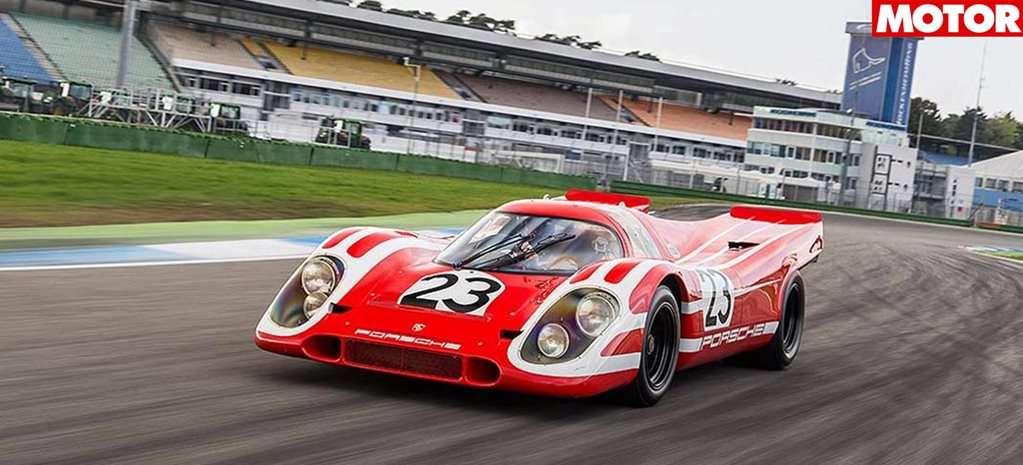 Porsche chooses its 5 most iconic racercar