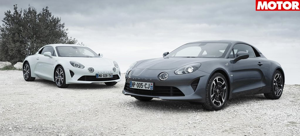 Alpine A110 gains two new versions news