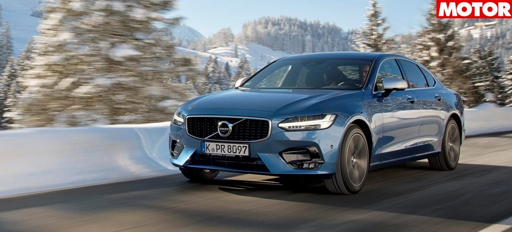 Car buyers flocking to alternative choices over traditional models volvo s90 r design