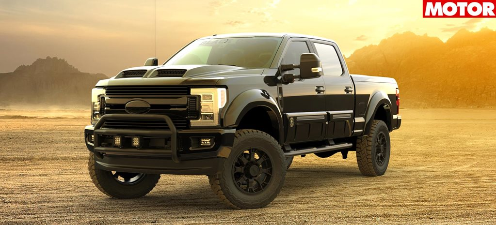 Ford F 250 Tuscany Black Ops announced for oz
