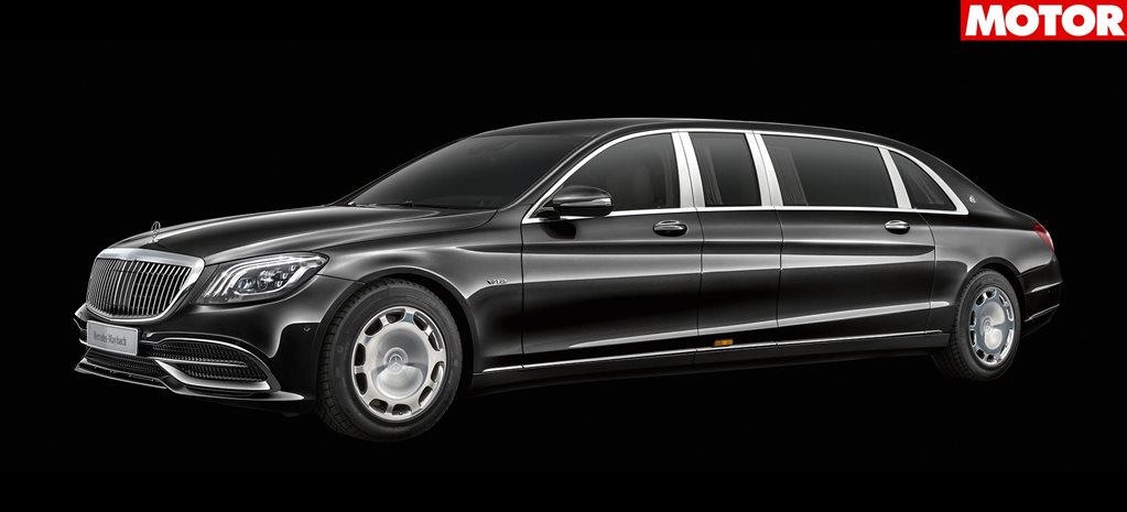2018 Mercedes Maybach S650 Pullman news