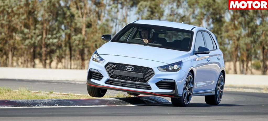 Hyundai i30 N covered with track warranty