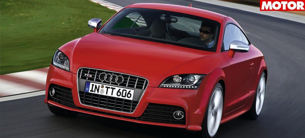 2008 Audi TTS coupe classic MOTOR review