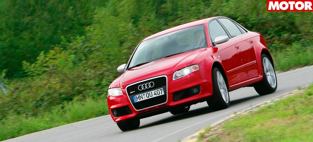 2006 Audi RS4 review classic MOTOR main