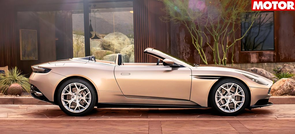 aston martin db11 volante pricing revealed. Black Bedroom Furniture Sets. Home Design Ideas