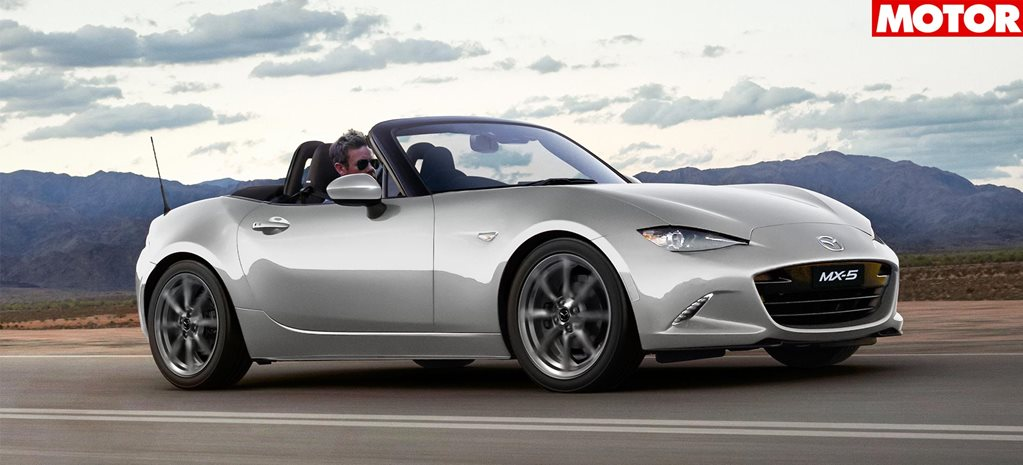 Mazda MX5 receives updated