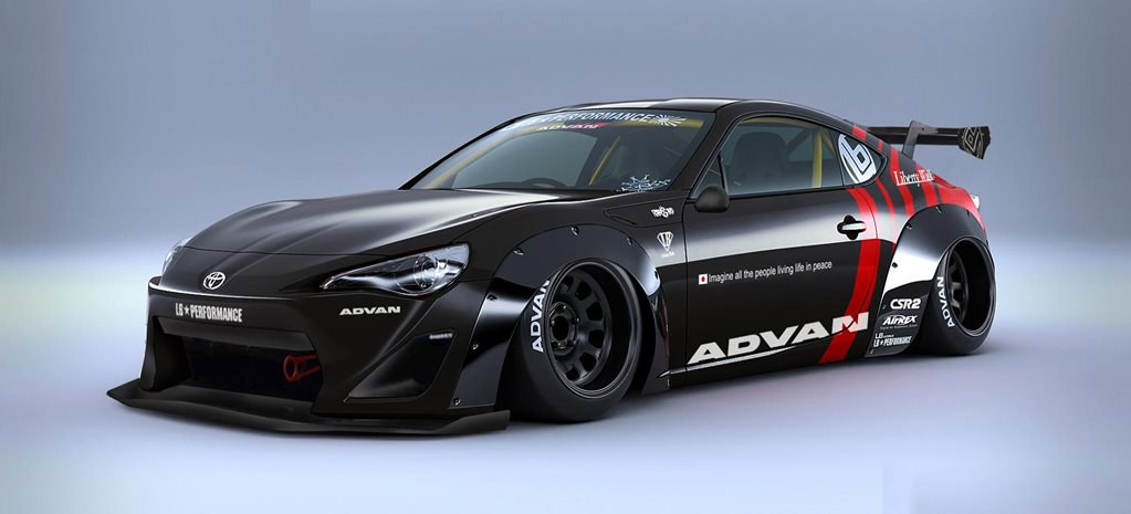 liberty walk 86 kit revealed