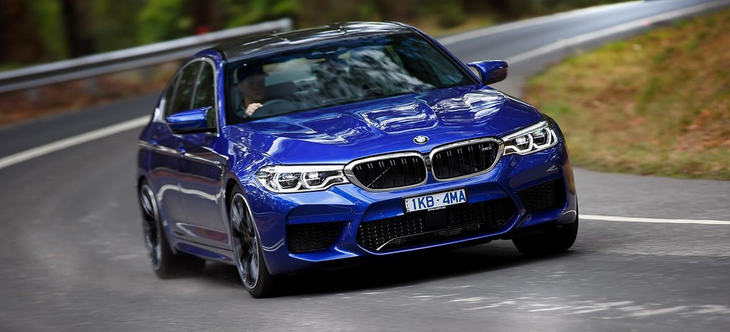 2019 BMW M5 performance feature