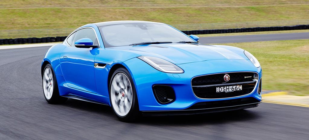 2018 Jaguar F Type performance review main