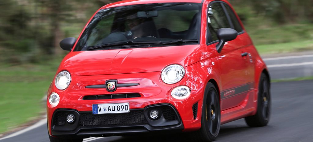 2018 Abarth 595 Competizione quick review feature