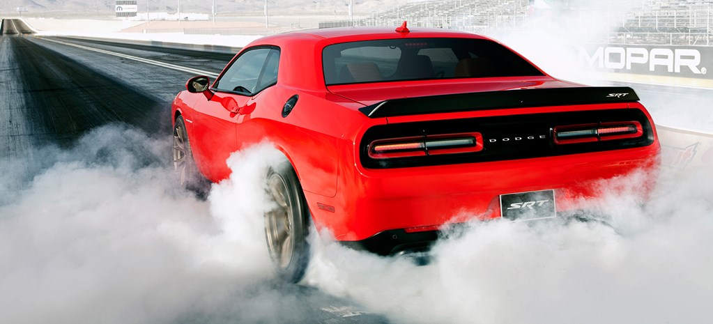 Dodge Challenger SRT Hellcat unleashed