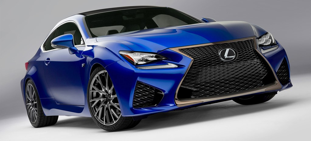 Lexus RC coupe sets arrival date