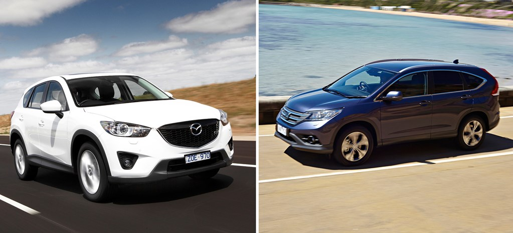 Head2Head: Honda CR-V vs Mazda CX-5