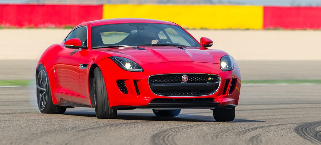 First Fang: Jaguar F-Type Coupe