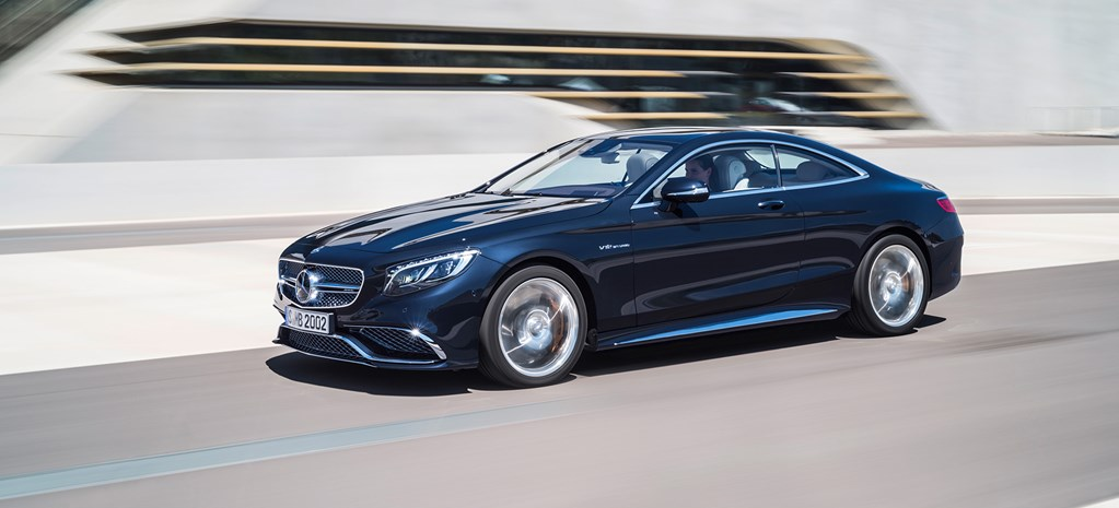 First pics: 2015 Mercedes S65 AMG Coupe