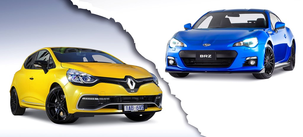 Head2Head: Renault Clio RS200 vs Subaru BRZ