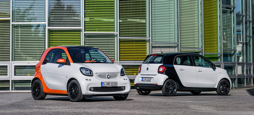 New Smart ForTwo and ForFour revealed