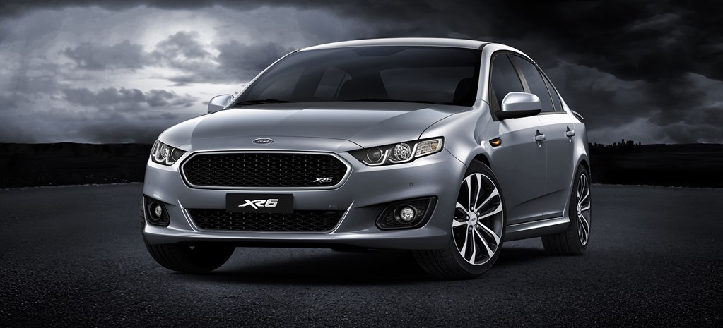 Ford unveils new XR Falcon range
