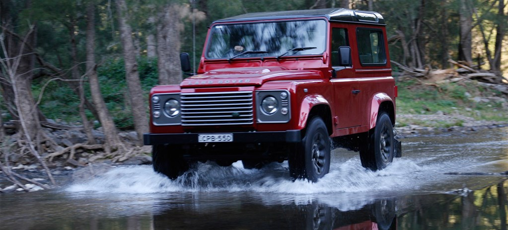 Land Rover Defender 90 review: Last drive
