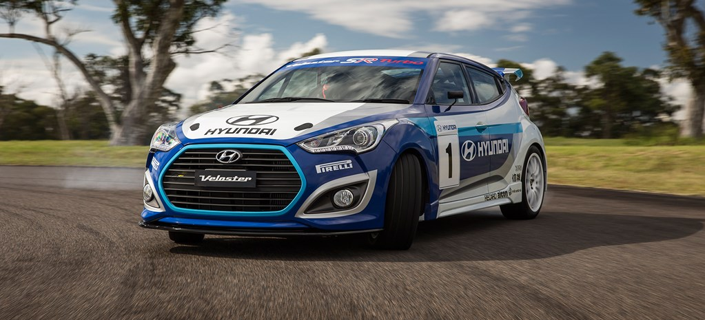 First Fang: Hyundai Veloster Race Car