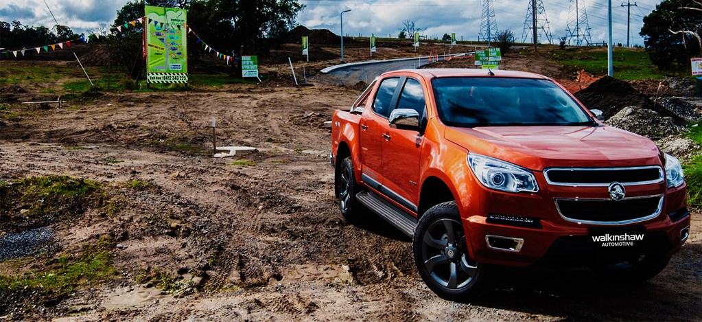 Walkinshaw kits out the Holden Colorado