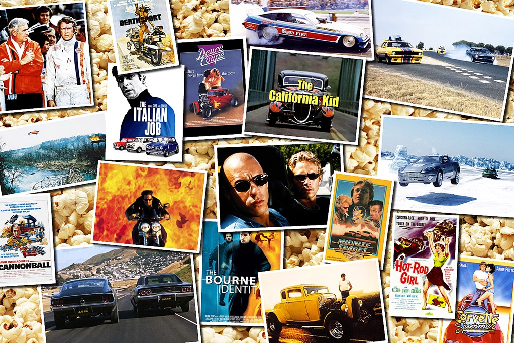 101 top best car movies street machine