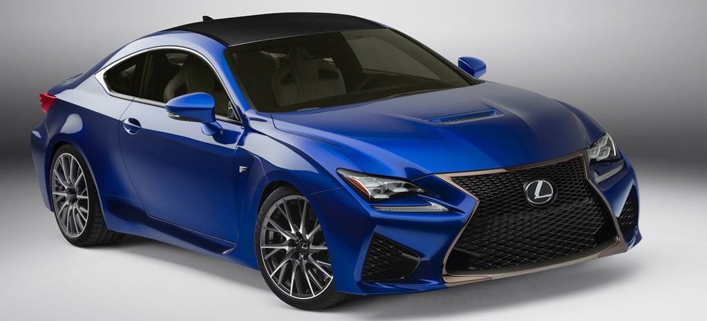Faster, angrier Lexus RC F coming