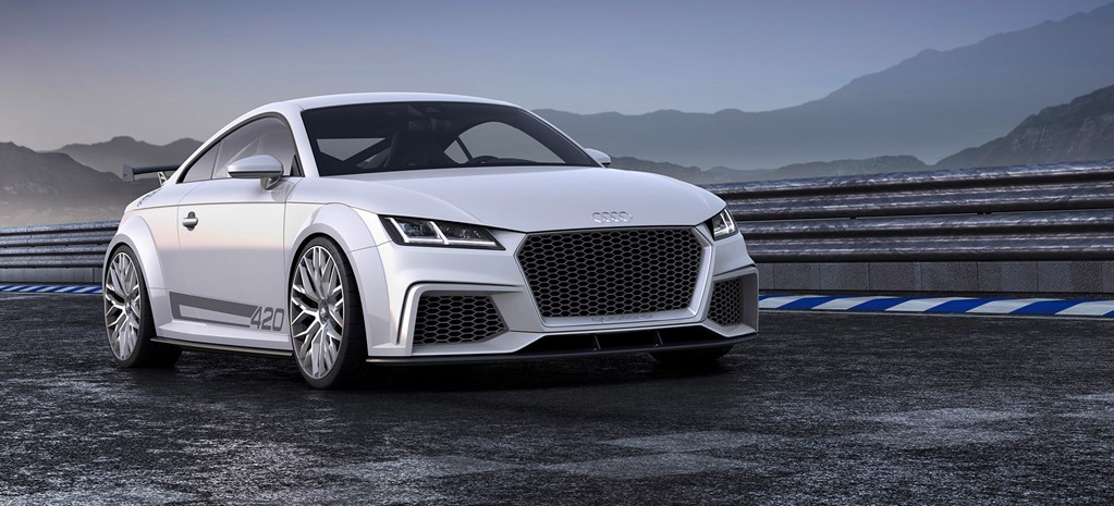 Hot new Audi TT coming