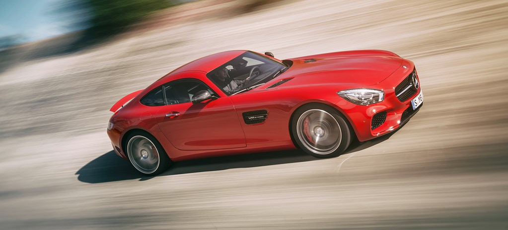 2015 Mercedes AMG GT first official pictures