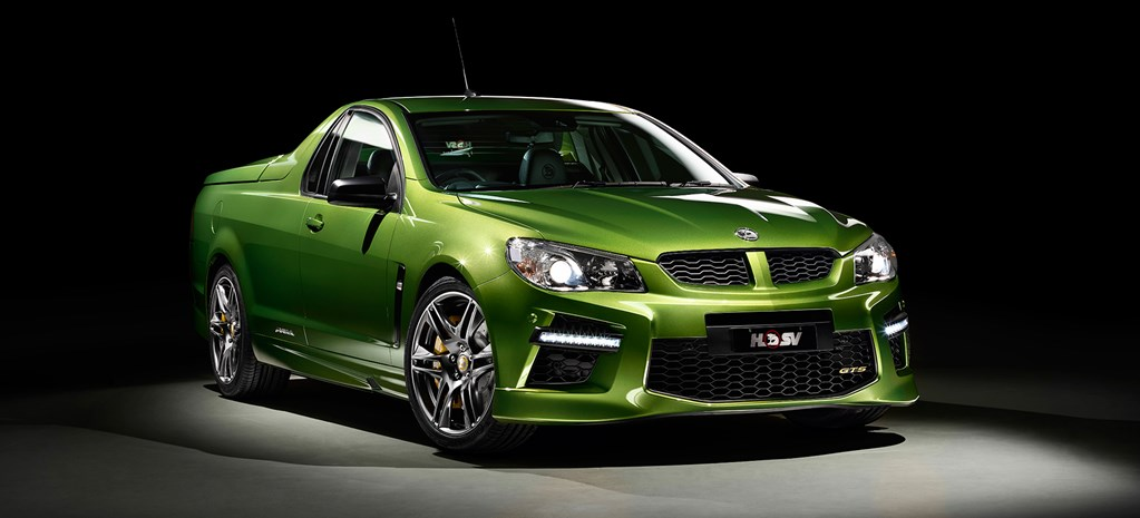 HSV GTS Maloo is the world's fastest ute