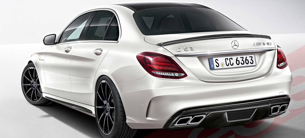 Merc reveals huge power for AMG C63
