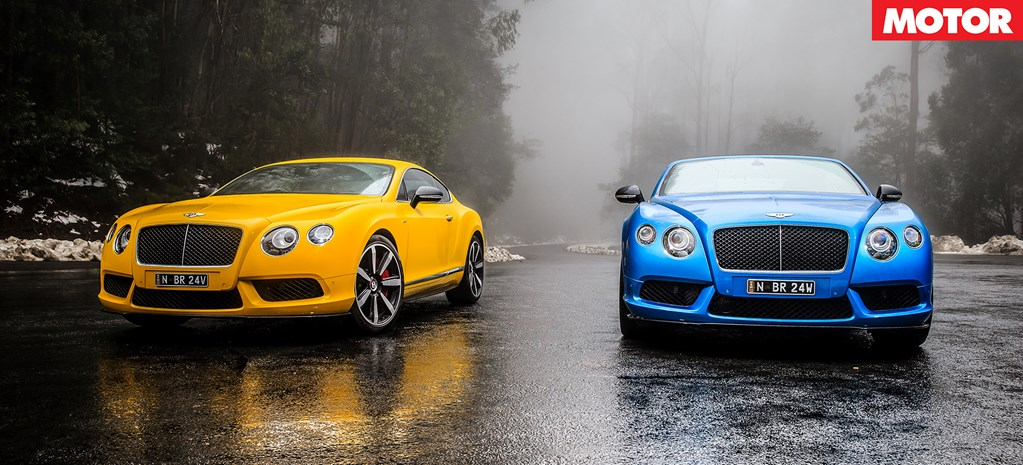 Bentley Continental V8 S Review