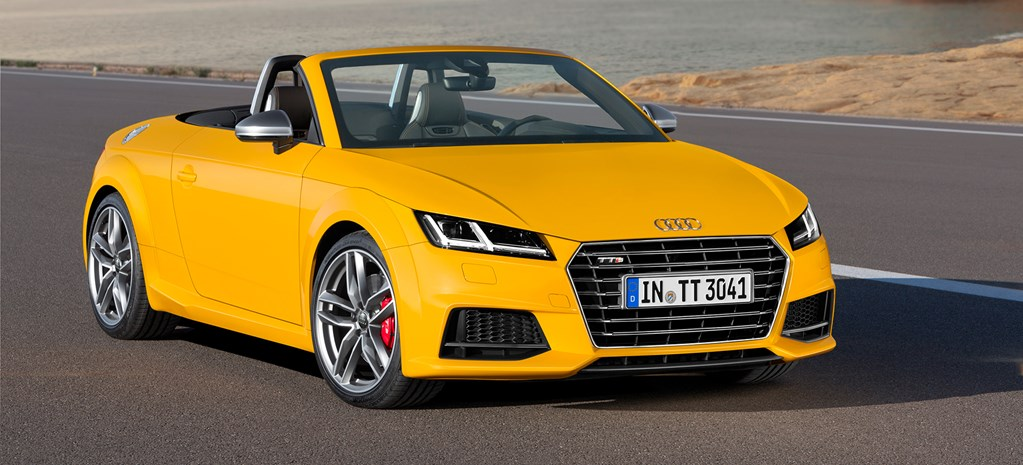 Audi TT Roadster first official pictures