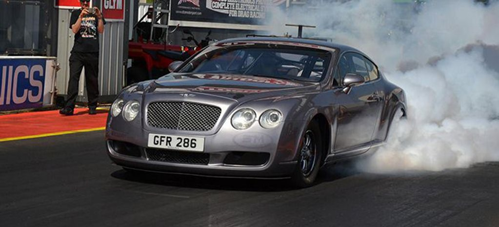 3000HP BENTLEY DRAG RACER