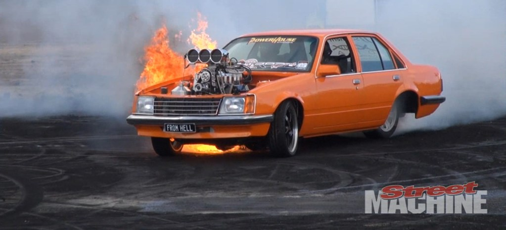 HELL FIRE BURNOUT