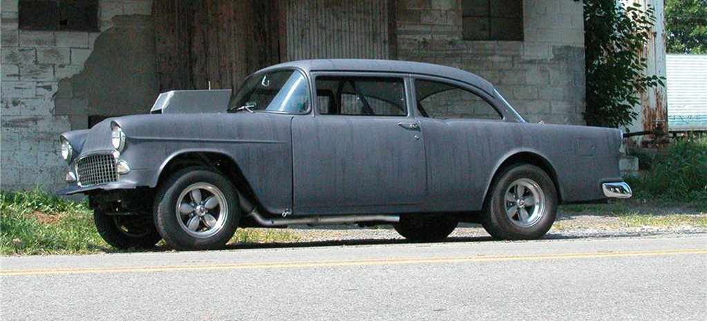 '55 CHEV FROM TWO-LANE BLACKTOP UP FOR GRABS!