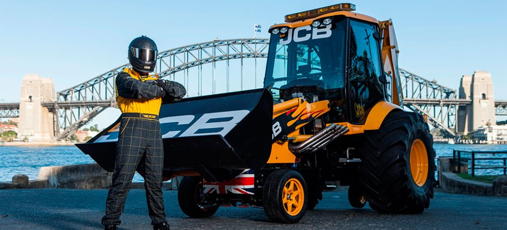 VIDEO: JCB GT IS WORLD'S FASTEST DIGGER