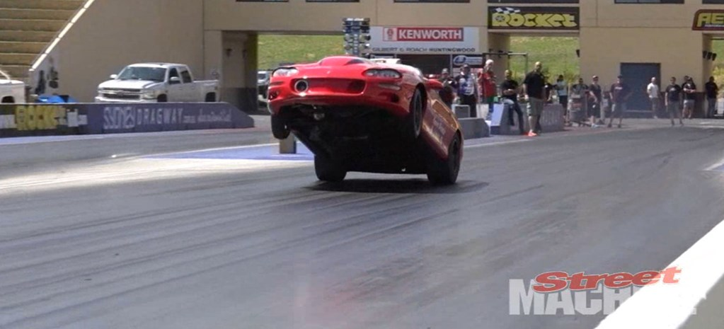 VIDEO: WHEELS UP AT SYDNEY DRAGWAY