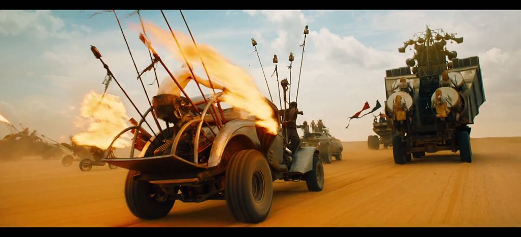 NEW MAD MAX: FURY ROAD TRAILER