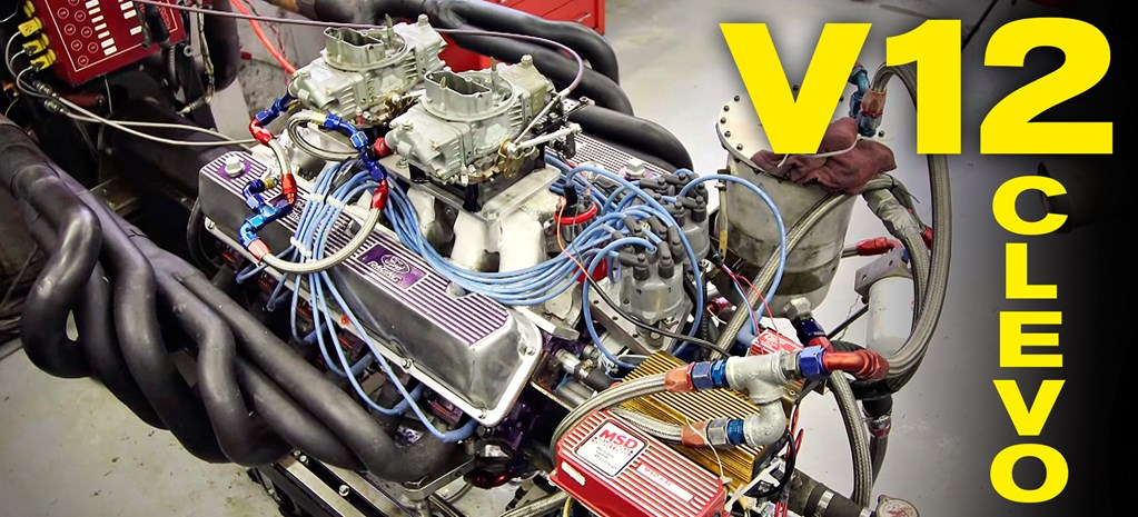 VIDEO: SHED-BUILT V12 FORD CLEVO