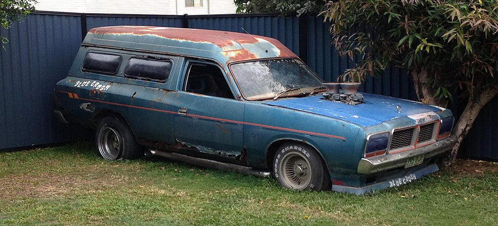 MISSING MOPAR: THE BLUE CRUSH VALIANT VAN