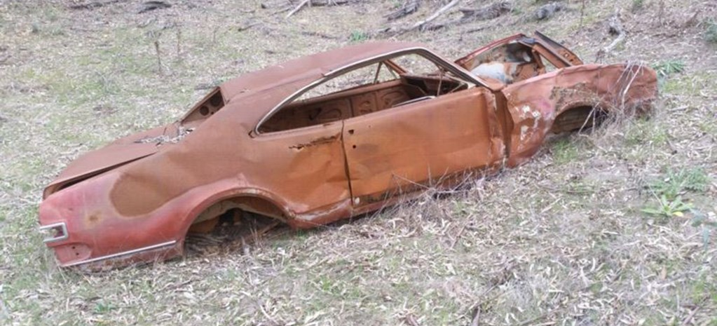FOR SALE: WOULD YOU BUY THIS RUSTY HK MONARO?