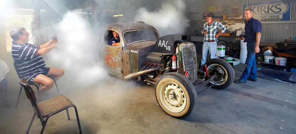 HOT ROD SHED: JOHN BAKER