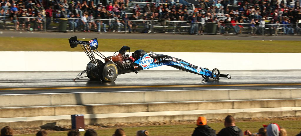 VIDEO: TOP FUEL CRASH AT WINTERNATS