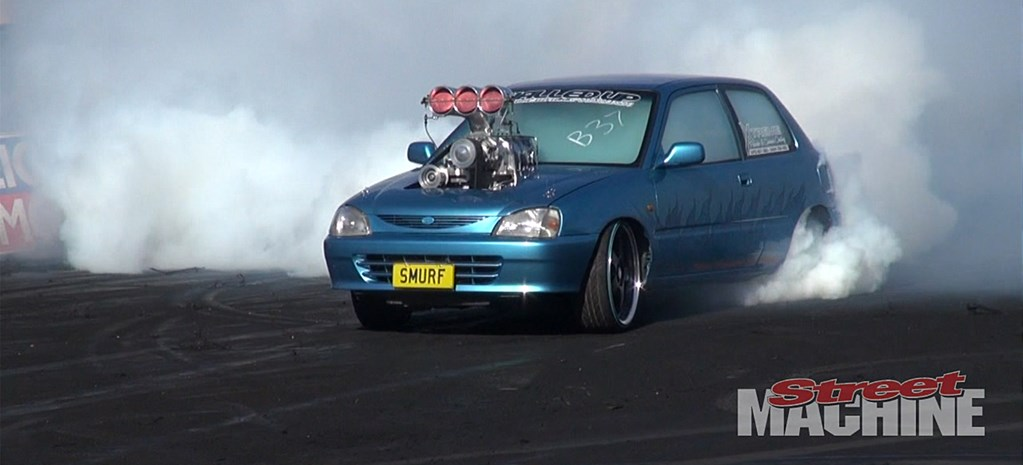 VIDEO: BRASHERNATS GOES OFF AT SYDNEY DRAGWAY
